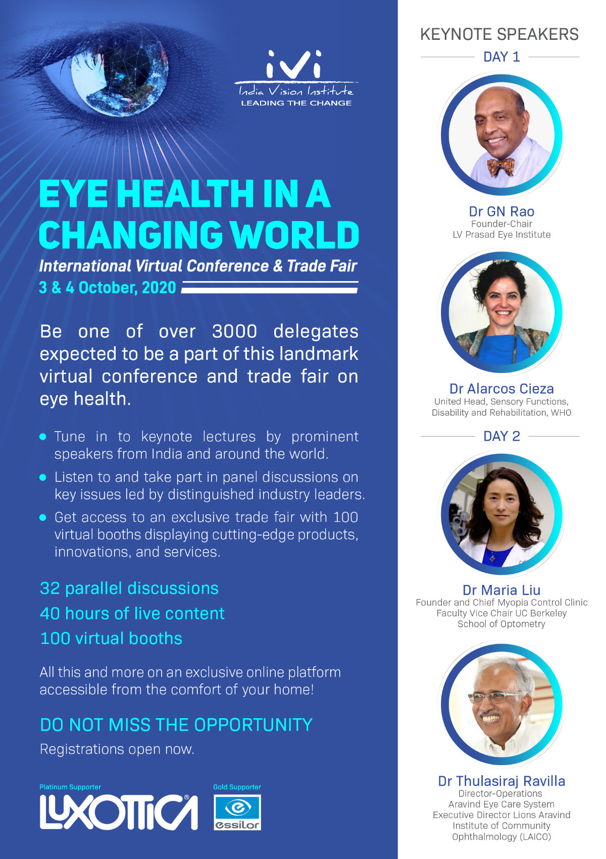 Eye Health in a Changing World - Virtual Conference